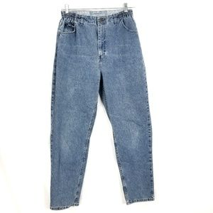 LEE Jeans High Waisted Stretch Band Mom Jeans